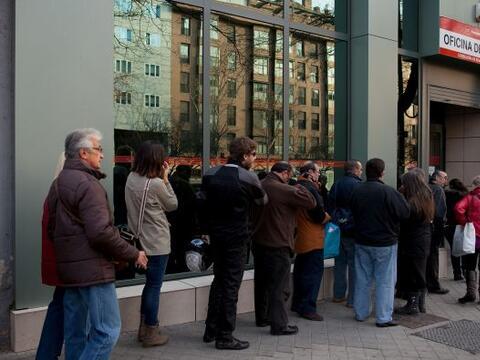 El número de personas que solicitaron prestaciones por desempleo...