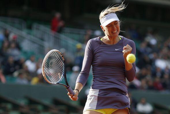 La segunda favorita ganó en dos sets por 6-4 y 6-3.