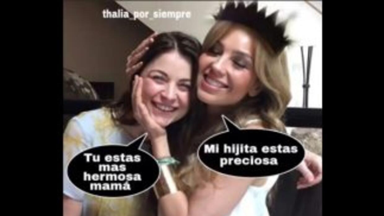 Thalía y Ludwika Paleta