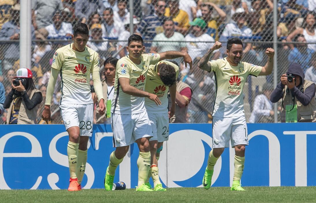 América sufrió, pero al final derrotó 3-2 a los Pumas en CU 014 Celebrac...