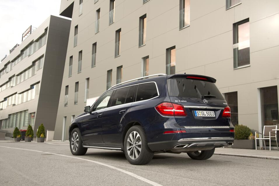 Mercedes-Benz GLS 400 4MATIC 2017 - edición europea.