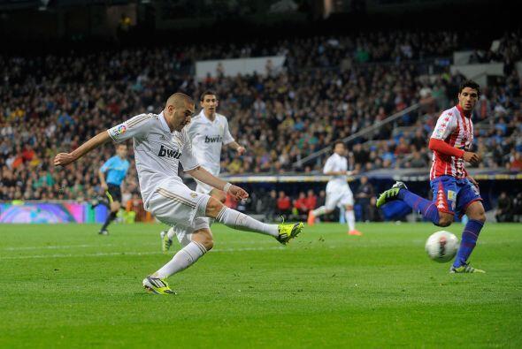 Sólo faltaba un gol para cerrar la victoria blanca y llegó.