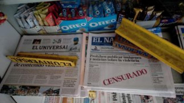 Los medios nacionales de Venezuela están indignados por la prohibición d...