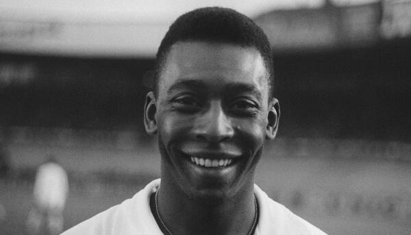 Pelé en 1970.