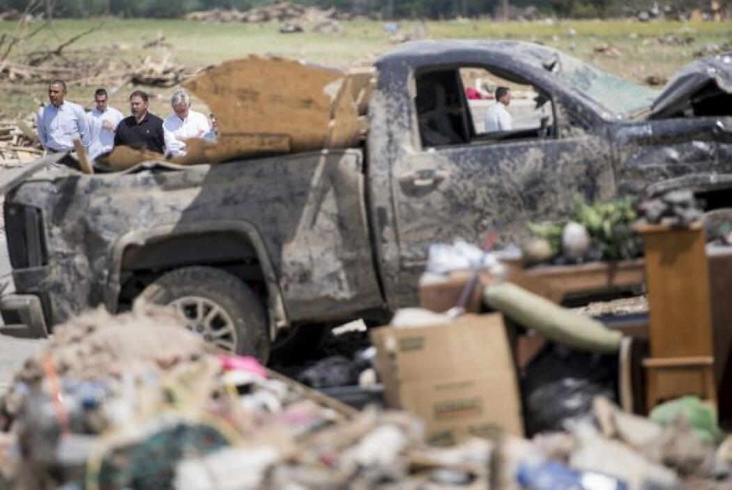 Y asoló numerosas viviendas, dentro de un devastador sistema de tornados...