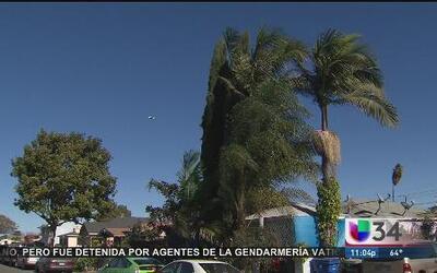 Fuertes vientos causan desastres al sur del estado