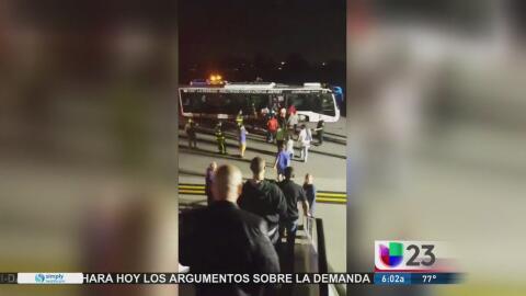 Evacúan avión en el aeropuerto de Fort Lauderdale por una amenaza de bomba