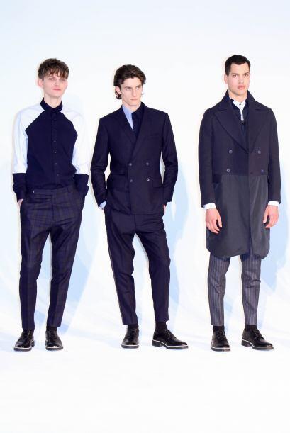 Algunos de los pantalones de vestir ofrecieron elegantes estampados. (Fo...