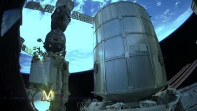 ¿Qué retrataron los astronautas de la base espacial internacional?
