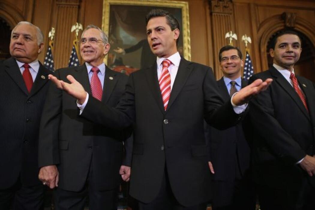 """Peña Nieto explicó que su meta será trabajar en favor """"de una relación m..."""
