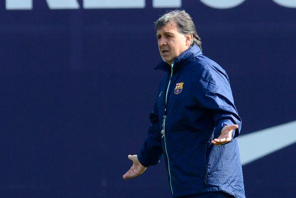 """En su primer año al mando del Barcelona, Gerardo """"Tata""""..."""