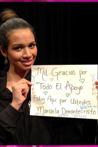 Del Salvador tenemos a Marisela Demontecristo que se ha convertido en un...