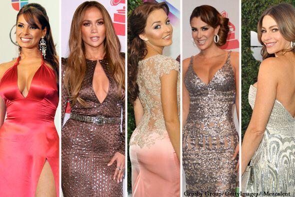 Por la alfombra de Latin GRAMMY han pasado las mujeres más sexies del en...