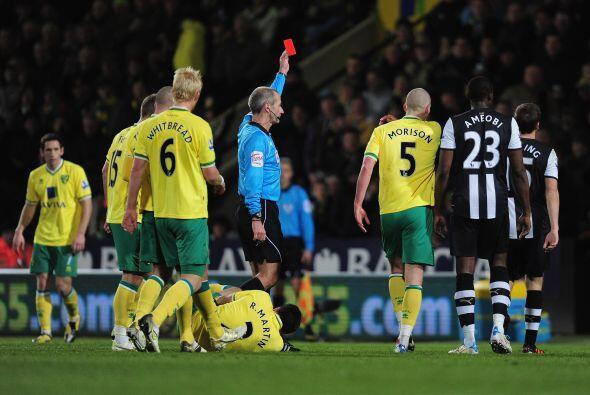 La sorpresa de la fecha la dio el Norwich al ganarle al Newcastle.