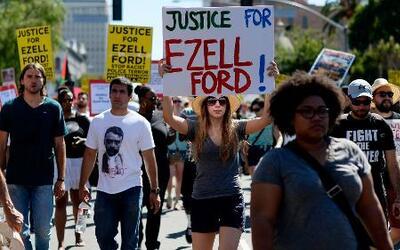 La muerte de otro afroamericano desata protestas en California