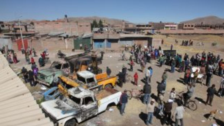 El accidente ocurrió en la región de Puno, en el sur de Perú.