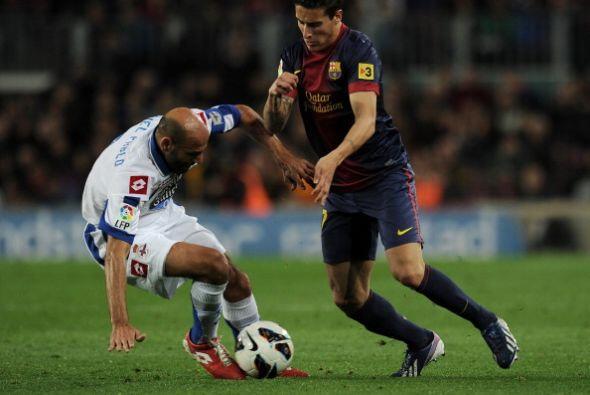 A pesar de todo el Barcelona no mostró el fútbol virtuoso...