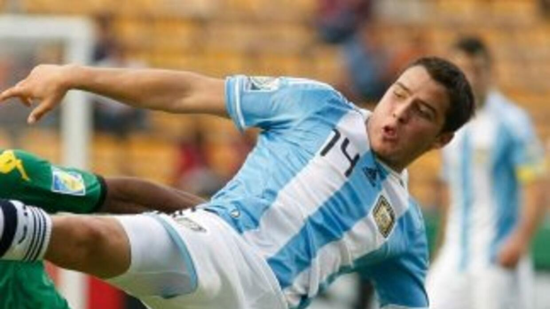 Alexis Zárate, aquí en el Mundial Sub-20, fue acusado de violación de la...