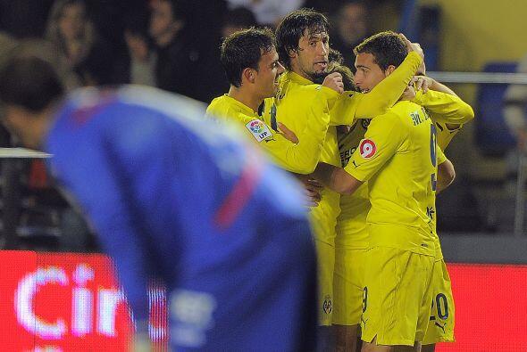 Ese tercer tanto del Villarreal fue marcado por el argentino Marcos Rub&...