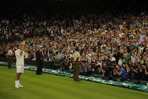 La cancha central del All England Club se entregó a Murray y muy...