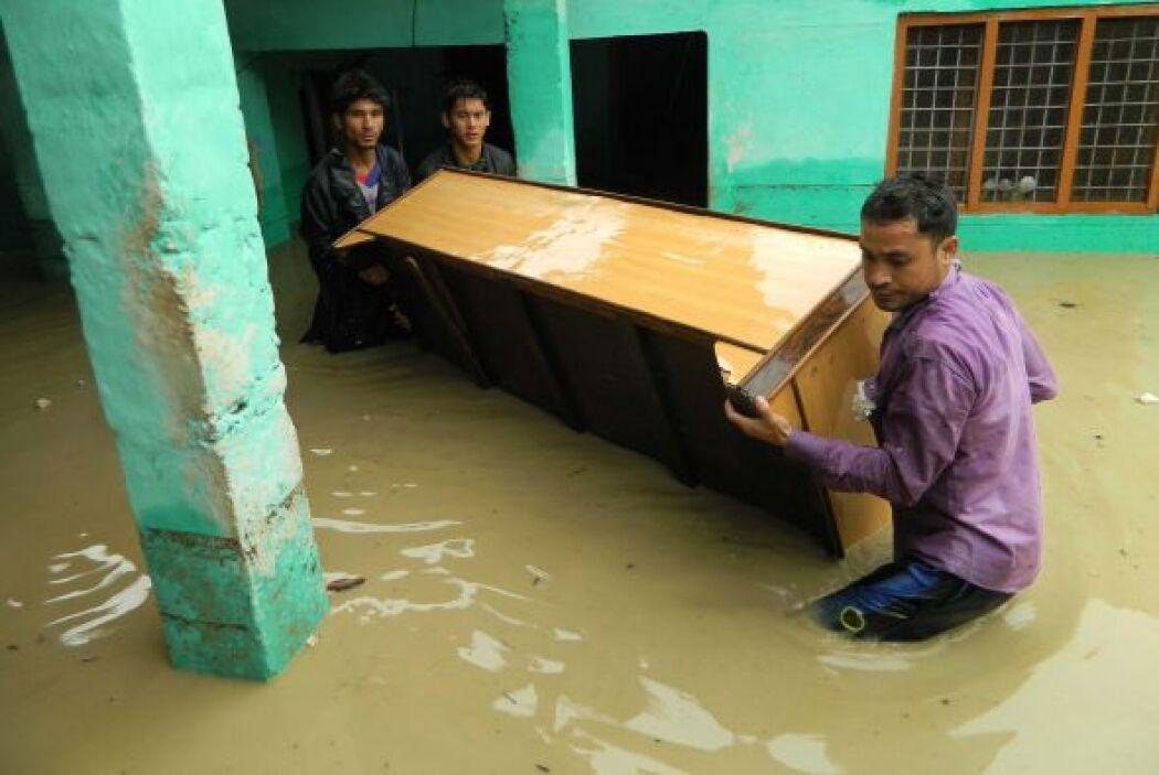 La mejora de las condiciones meteorológicas permitió al Ejército rescata...
