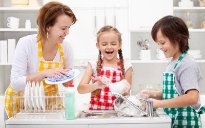 No necesitas un spa, sólo lava los trastes