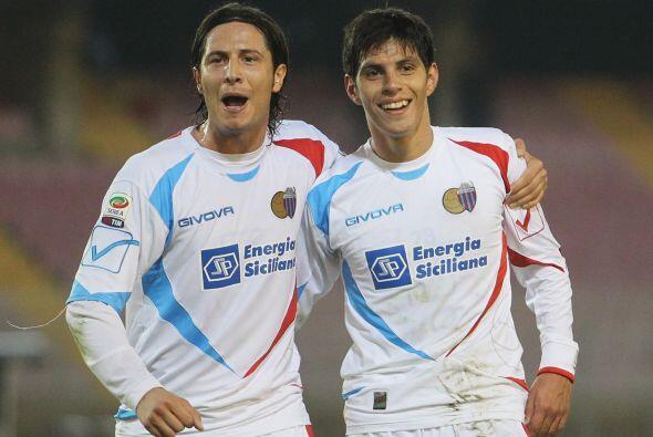 Con gol de Pablo Barrientos, el Catania se encargó de hundir más al Lecce.