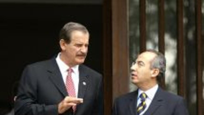 El ex presidente Vicente Fox aseguró que la estrategia actual contra el...
