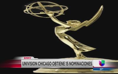 Univision Chicago recibe 15 nominaciones al premio Emmy