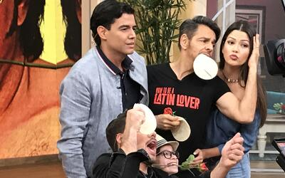 Eugenio Derbez se enfrentó a Ana Patricia en 'el juego de tortillazo'. ¿...