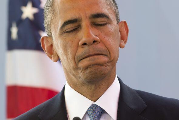 Al inicio de su mandato, Barack Obama tildó de valientes y patrióticos a...