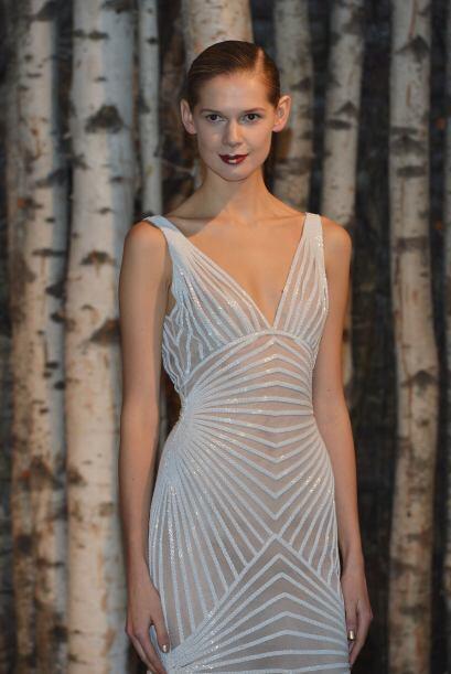 Aquí los mejores modelos del diseñador Naeem Kahn.