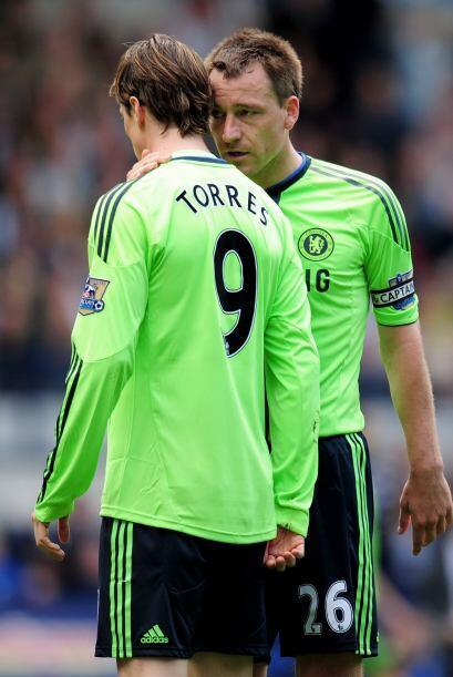 Cuando los jugadores se retiraban del campo de juego, Terry se quedó con...
