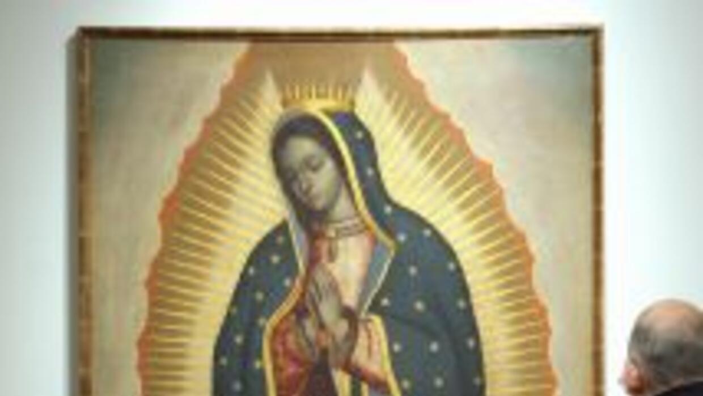 Luego de robar una imagen de la Virgen de Guadalupe, parece que el ladró...