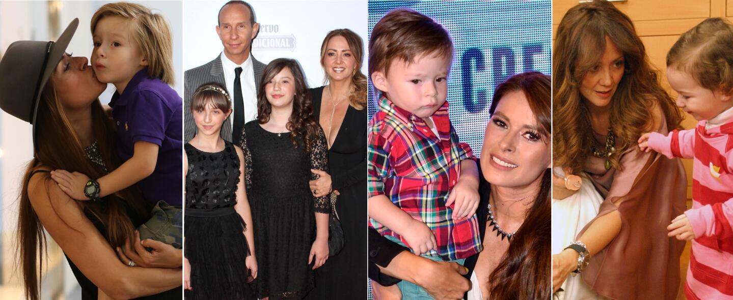 Galilea Montijo, Andrea Legarreta y sus hijos
