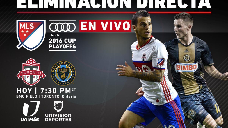 EN VIVO   Playoffs MLS   Toronto FC vs Philadelphia Union   Eliminación...