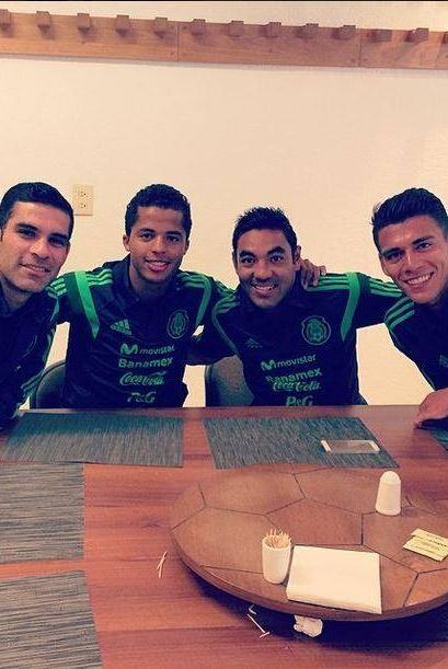 Rafa Marquez, Giovanni Dos Santos, Marco Fabian, Hector Moreno