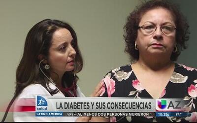 La diábetes detona otras enfermedades