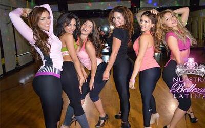El baile sexy de Chiqui y las bellas