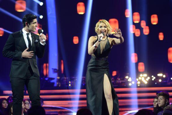 Paloma Carrasco hizo un dueto con Espiridión Magaña la seg...