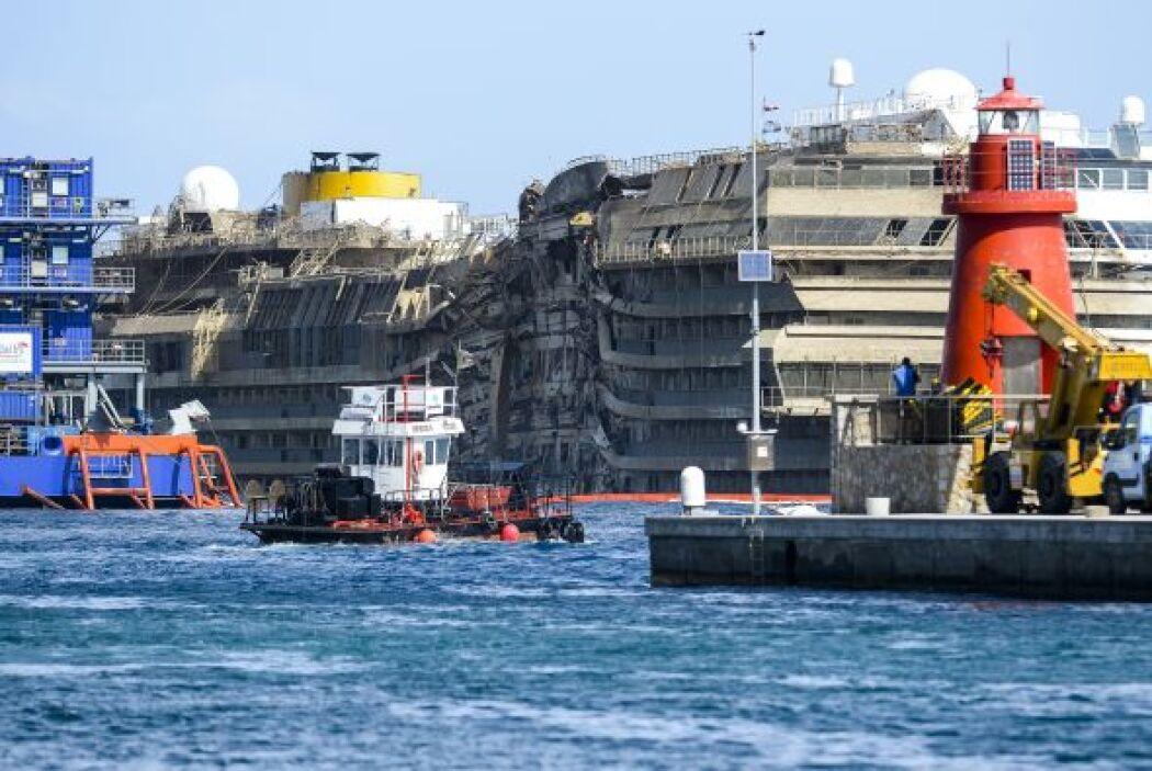 El reflote del Costa Concordia costó unos $800 millones. Cientos de peri...