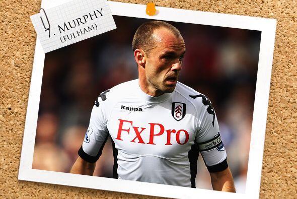 También de la Liga inglesa, Danny Murphy del Fulham.