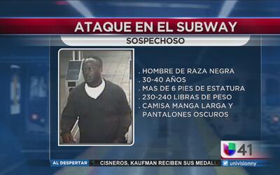 Buscan a hombre que atacó a usuario del metro en Manhattan