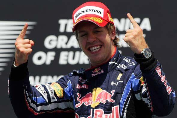 Vettel ahora está en tercer lugar general detrás de Hamilton y Jenson Bu...