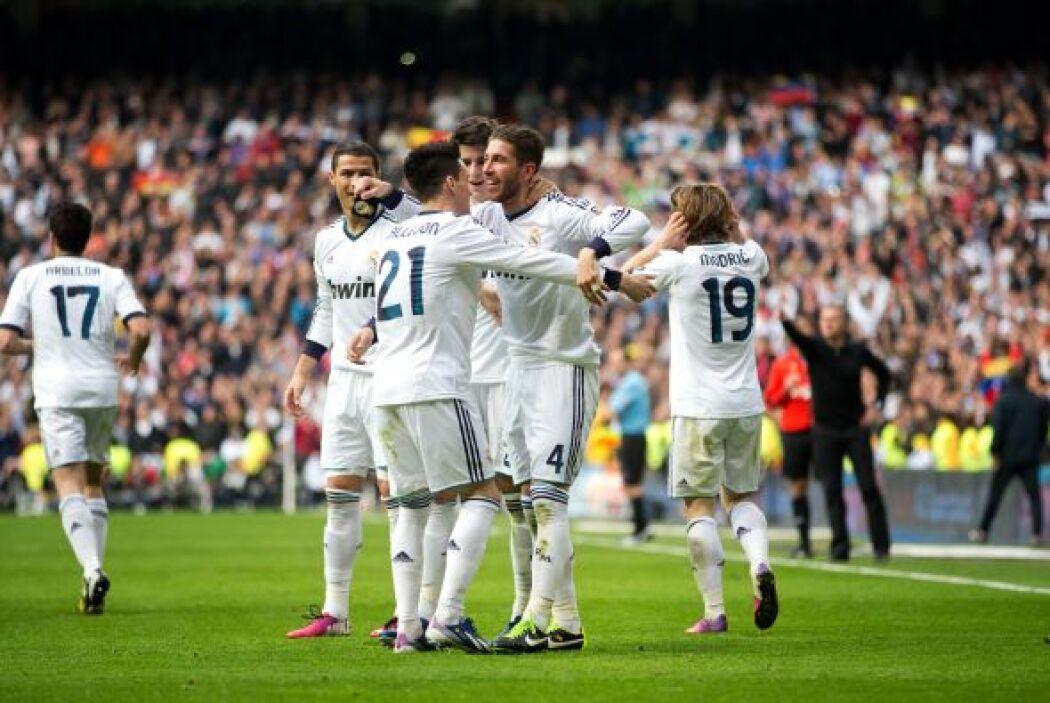 Uno de los capitanes del Real Madrid le dio los tres puntos a su club en...