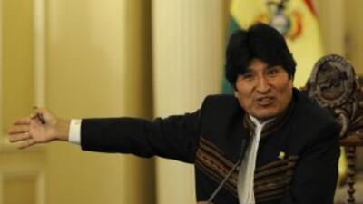 Evo Morales cumplió el primer año de su segundo mandato.