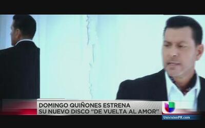 Domingo Quiñones de vuelta con nueva producción bajo la manga