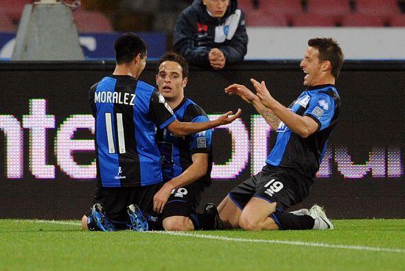 Un gol de Giacomo Bonaventura sorprendió a los locales al adelant...