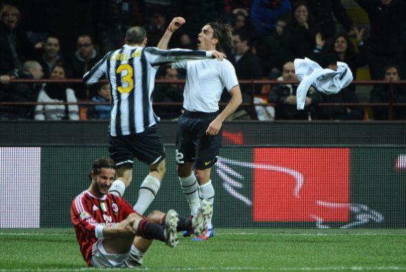 Alessandro Matri se sacó la 'mufa' y puso el merecido empate.
