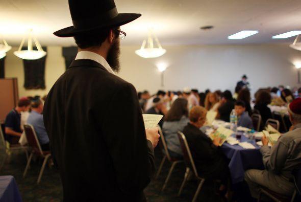La celebración de la Pascua judía en la sinagoga Miami Beach